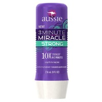 Aussie 3 Minute Miracle Strong Conditioning Treatment 8 Fl Oz - Hair Strengthening Treatment
