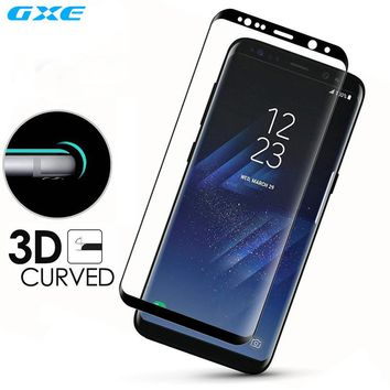 Note 8 3D Curved Full Coverage Tempered Glass For Samsung Galaxy S8 Plus S8+ S7 Edge S6 Plus Screen Protector Toughed Pet Film
