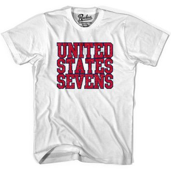 United States (Red) Seven Rugby Nations T-shirt