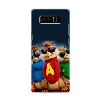 Alvin And The Chipmunks The Road Chip Movies Glasses Hip Hop Samsung Galaxy Note 8 Case