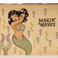 Makin' Waves Jumbo Mermaid Pouch
