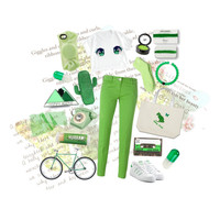 White and green!!!