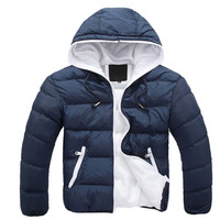 Hooded Winter Jacket w/ Cotton Lining