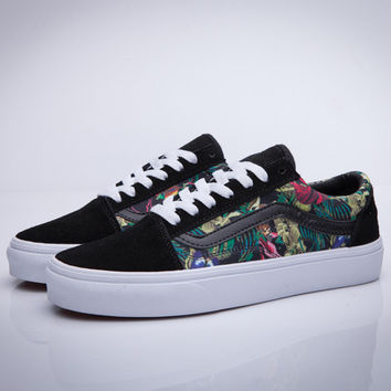 Trendsetter VANS Old Skool Print Flats Shoes Sneakers Sport Shoes