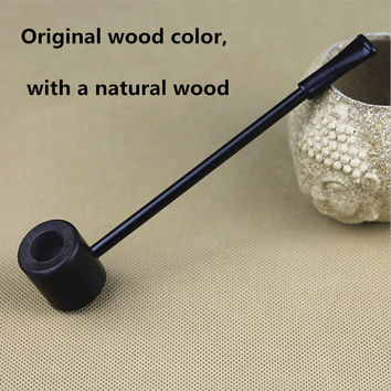 Grade Ebony Wood Pipe Smoking Pipes Popeye