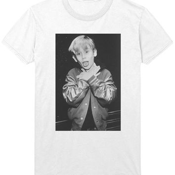 Ryan Gosling vs Macaulay Culkin Round 1 T-Shirt - Home Alone Film Drive Shirt Sweatshirt - Mens / Womens