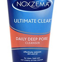 Noxzema Ultimate Clear Bacteria Fighting Cleanser, 6 Ounce