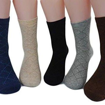 Meso Men's 1 Pair Extra Thick Cashmere Wool Socks Diamond Size 9-11