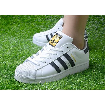Originals Adidas Superstar Men's Women's Classic Sneaker Sprot Shoes - C77153