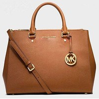 MICHAEL KORS Women Shopping Fashion Leather Satchel Shoulder Bag Crossbody I