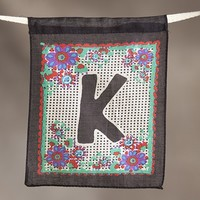"""""""K""""  Inspiration  Flag  From  Natural  Life"""