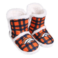 Denver Broncos  Official NFL Flannel Sherpa Boots