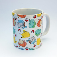 I Choose You! Pokemon Patterned Mug