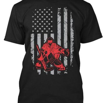 American Hockey Goalie T-Shirt