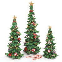Christmas Tree Figurines