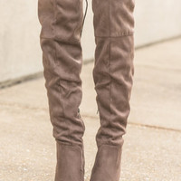 Sass In A Flash Boots, Mocha