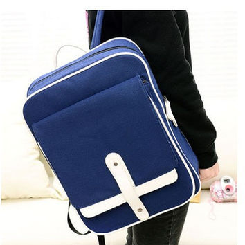 Hot Deal College Comfort Stylish Casual On Sale Back To School Korean Summer Canvas Vintage Fashion Backpack [6583240007]