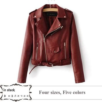 *online exclusive* leather jacket