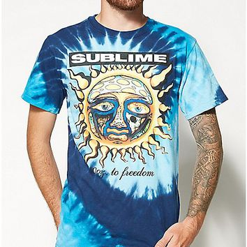 Sublime Sun Tie Dye Tee - Spencer's