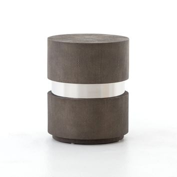 Marise Drum End Table