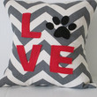 Throw pillow Dog Love Novelty Pillow