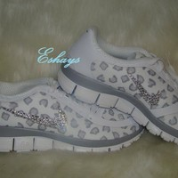 2 Swooshes Covered Nike Free 5.0 V4 Cheetah Leopard