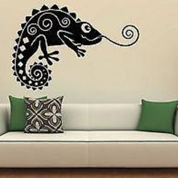 Wall Stickers Vinyl Decal Lizard Animal Positive Unique Gift ig980
