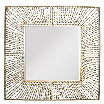Square Decorative Mirror