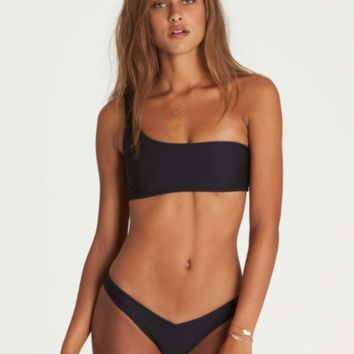 Tanlines 1 Shoulder Bikini Set