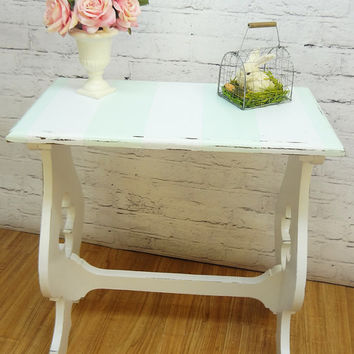 Cottage Side Table - Shabby Chic