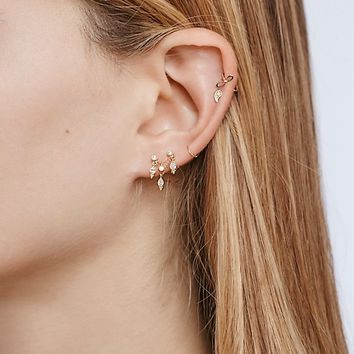 Free People Diamond Ear Chandelier