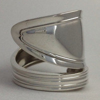 Size 7.5 Vintage Sterling Towle Silver Spoon Ring by NotSoFlatware