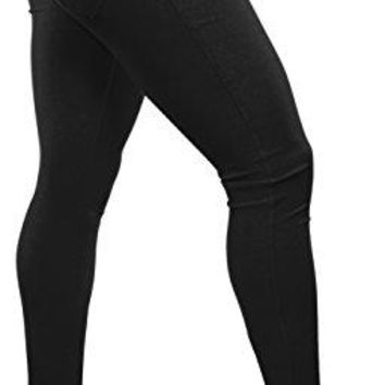 Women's Colored Jean Look Jeggings Tights Spandex Leggings - 10 colors