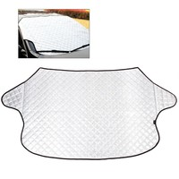 SUV Universal Car Windshield All Weather Snow Cover & Sun Shade Protection Cover Fits Most of Car