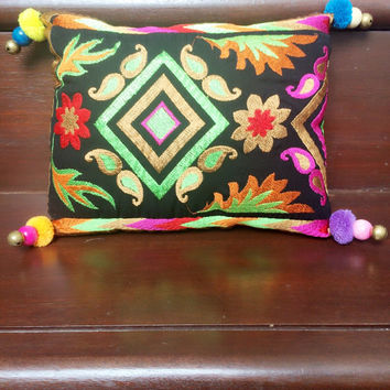 Embroidery Small Pillow ! Soft insert included!