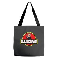 I'll Be Back Terminator Chibi Funny Tote Bags