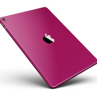 "Solid Dark Pink V2 Full Body Skin for the iPad Pro (12.9"" or 9.7"" available)"