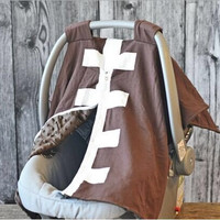 Football Carseat Cover