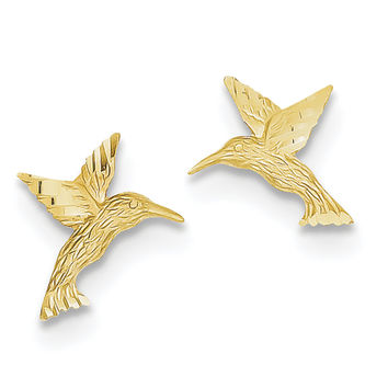 14K  Hummingbird Earrings TC626