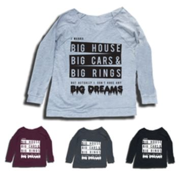 BTS Big Dreams Sweatshirts 2-Sided