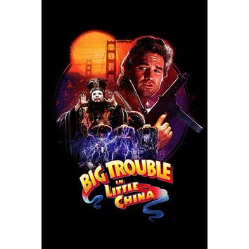 Big Trouble In Little China Movie Art Puzzle Choose a size