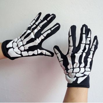 DCCKF4S Undefined Glove Halloween ghost glove costume ball party supplies birthday party decorations halloween property decoration