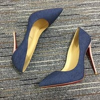Christian Louboutin Cl Pumps High Heels Reference #02bk3 - Best Deal Online