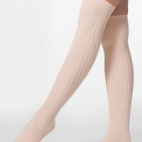 Ribbed Modal Over-the-Knee Sock | Knee-High Tights | Accessories' Stockings & Hosiery | American Apparel