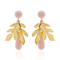 Violetta Pale Pink Earrings | Moda Operandi