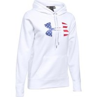 Under Armour Women's Armour Fleece Big Flag Logo Hoodie| DICK'S Sporting Goods