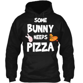 Cute Gift Ideas For Easter. Costume For Pizza Lover. Pullover Hoodie 8 oz