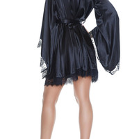 Milagro Geisha Satin Robe Dress