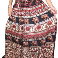 Indian Skirt Ethnic Printed Cotton Maxi Skirts, New Trendy Styling