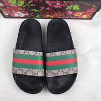 shosouvenir::Gucci :Casual Fashion men and women Sandal Slipper Shoes